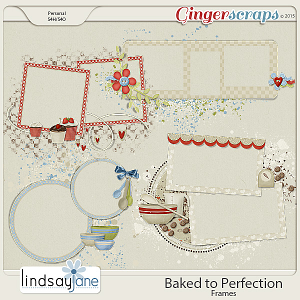 Baked to Perfection Frames by Lindsay Jane