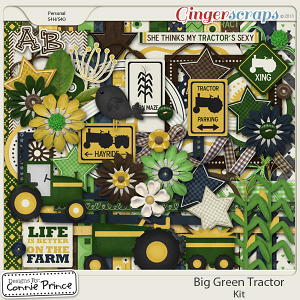 Retiring Soon - Big Green Tractor - Kit