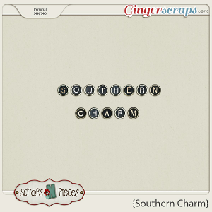 Southern Charm Alpha by Scraps N Pieces