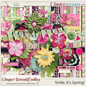 GingerBread Ladies Collab: Smile It's Spring