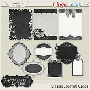 Classic Journal Cards