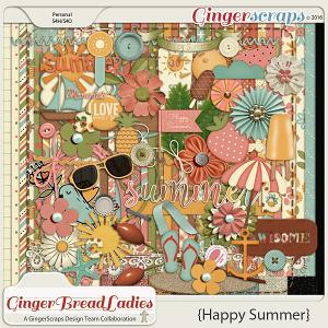 GingerBread Ladies Collab: Happy Summer