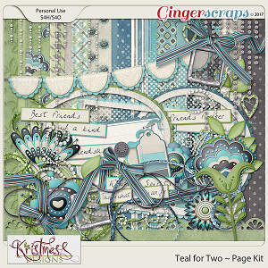 Teal for Two Page Kit