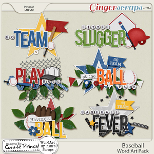 Baseball - WordArt