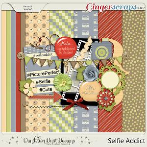Selfie Addict By Dandelion Dust Designs