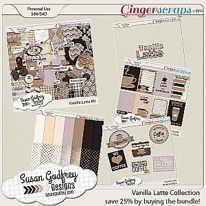 Vanilla Latte Collection Bundle by Susan Godfrey