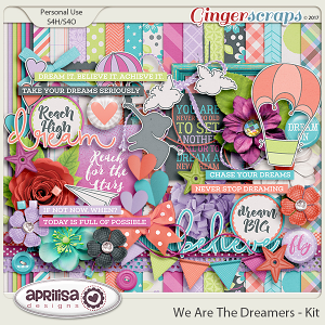 We Are The Dreamers - Kit by Aprilisa Designs