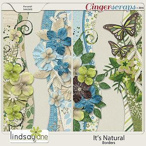 Its Natural Borders by Lindsay Jane