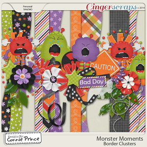 Monster Moments - Border Clusters