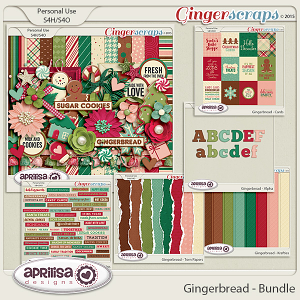 Gingerbread - Bundle by Aprilisa Designs