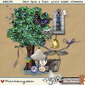 Once Upon A Time: pixie night elements