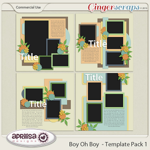 Boy Oh Boy - Template Pack 1