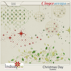 Christmas Day Scatterz by Lindsay Jane