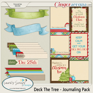 Deck The Tree - Journaling Pack