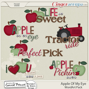 Retiring Soon - Apple Of My Eye - WordArt
