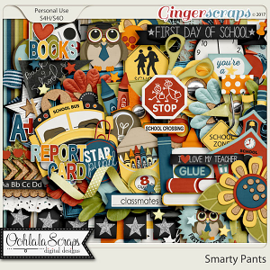 Smarty Pants Digital Scrapbook Kit