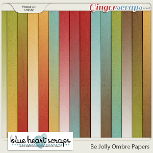 Be Jolly Ombre Paper Pack