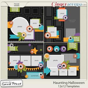 Retiring Soon -Haunting Halloween - 12x12 Temps (CU Ok)
