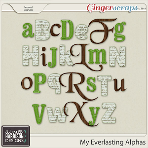 My Everlasting Alpha Sets by Aimee Harrison