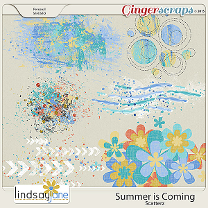 Summer is Coming Scatterz by Lindsay Jane