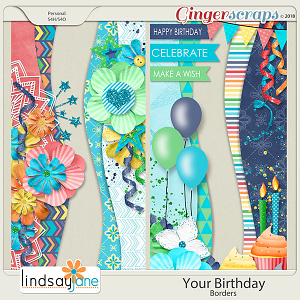 Your Birthday Borders by Lindsay Jane