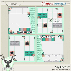 Say Cheese! by Dear Friends Designs