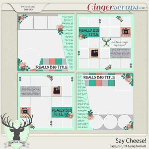 Say Cheese! by Dear Friends Designs