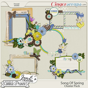 Song Of Spring - Cluster Pack