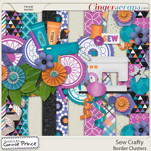Retiring Soon - Sew Crafty - Border Clusters