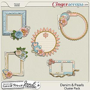 Retiring Soon - Denim & Pearls - Cluster Pack