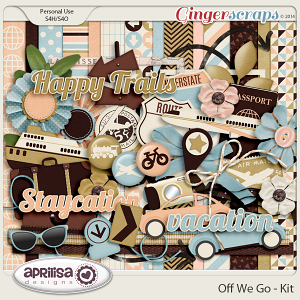 Off We Go Kit by Aprilisa Designs
