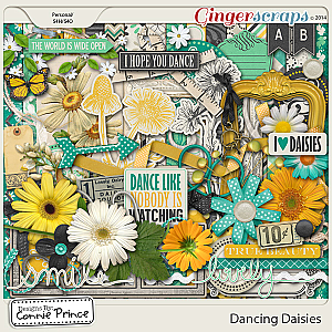 Retiring Soon - Dancing Daisies - Kit
