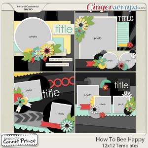 How To Bee Happy - 12x12 Temps (CU Ok)