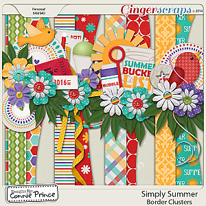 Simply Summer - Border Clusters