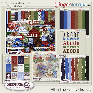All In The Family - Bundle by Aprilisa Designs