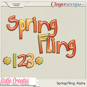 Spring Fling Alpha: by Katie Creates