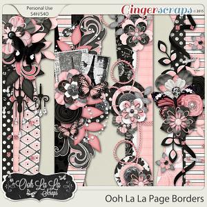 Ooh La La Page Borders