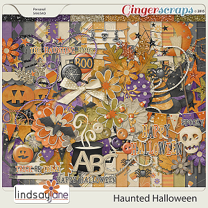 Haunted Halloween by Lindsay Jane