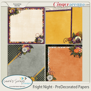 Fright Night - PreDecorated Papers