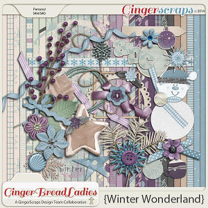GingerBread Ladies Collab: Winter Wonderland