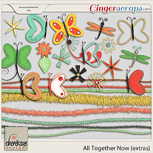 All Together Now Extras by Chere Kaye Designs