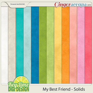 My Best Friend Solid Paper Pack