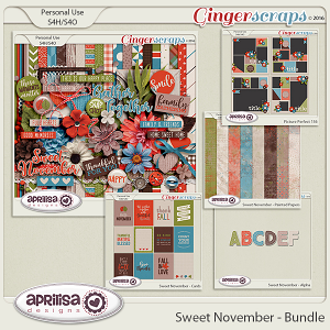 Sweet November - Bundle by Aprilisa Designs