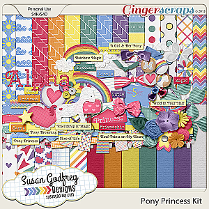 Pony Princess Kit by Susan Godfrey