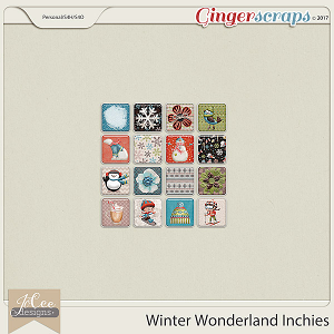 Winter Wonderland Inchies by JoCee Designs