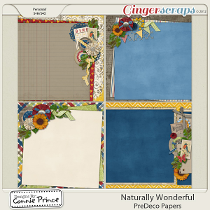 Retiring Soon - Naturally Wonderful -  PreDeco Papers