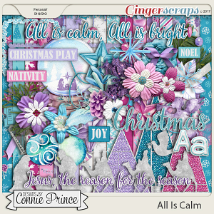 All Is Calm - Kit by Connie Prince