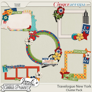 Travelogue New York - Cluster Pack