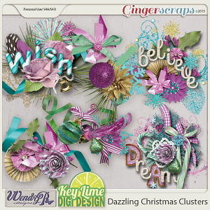 Dazzling Christmas Clusters
