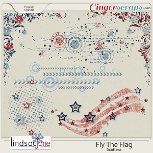 Fly The Flag Scatterz by Lindsay Jane